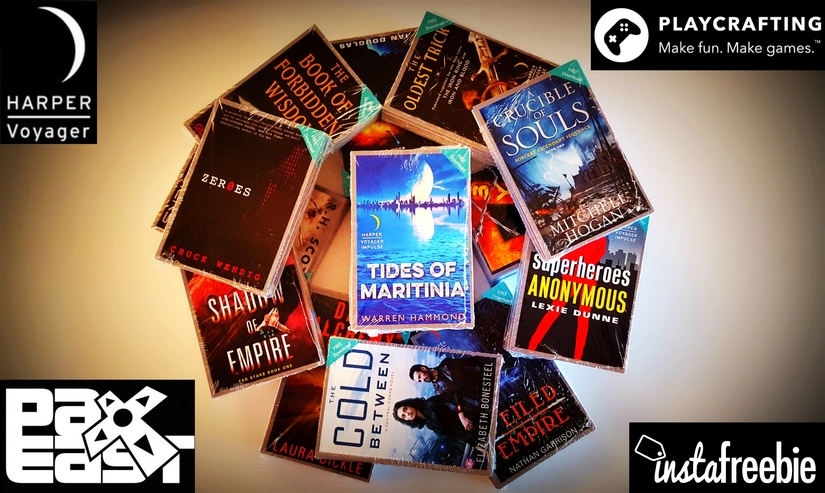 Free SciFi Reads from Harper Voyager with Playcrafting, and instaFreebie